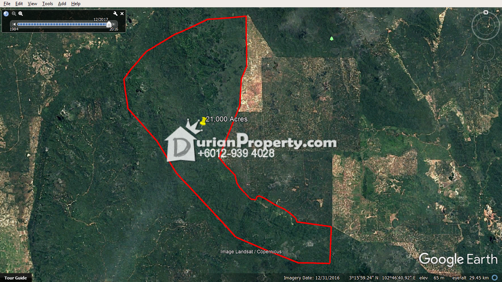 Agriculture Land For Sale at Keratong, Pahang