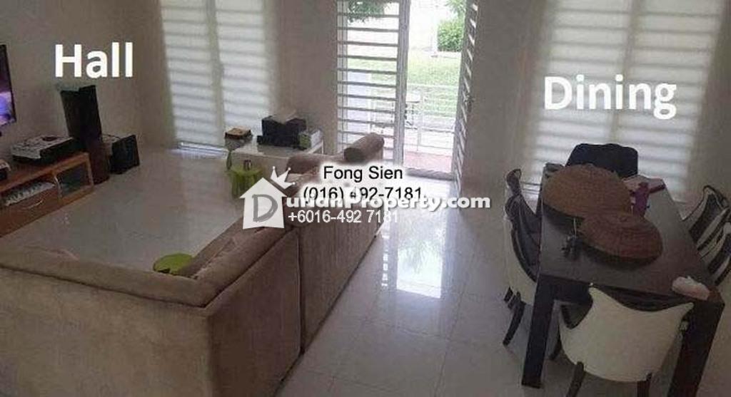 Terrace House For Rent at Seri Tanjung Pinang, Penang