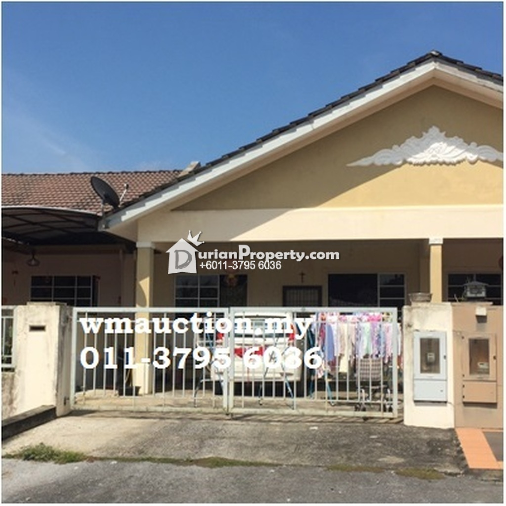 Terrace House For Auction at Midway crescent, Kota Samarahan