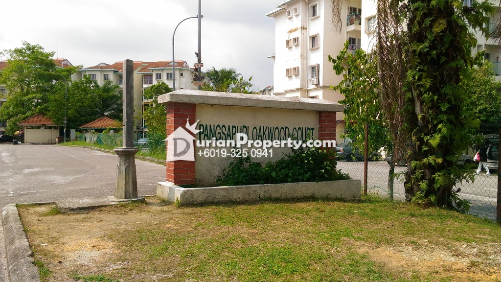 Apartment For Sale at Oakwood Court, Bandar Tasik Puteri
