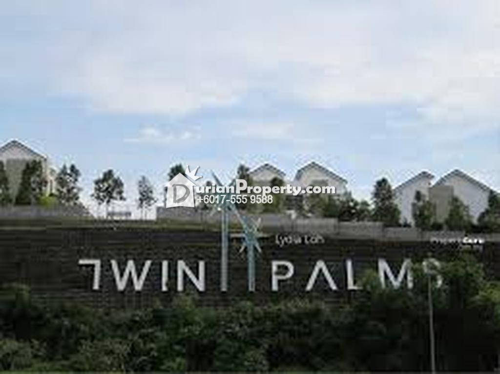 Semi D For Sale at Twin Palms, Bandar Sungai Long
