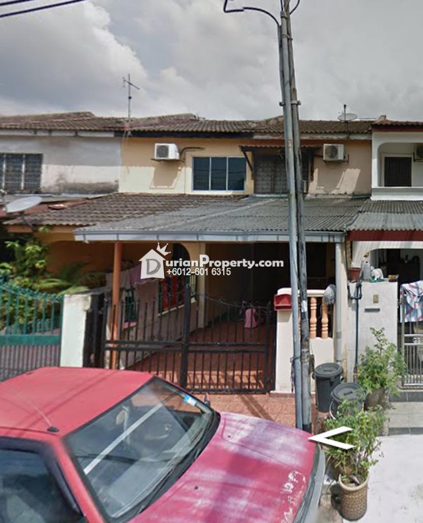 Terrace House For Auction at Taman Sri Muda, Shah Alam