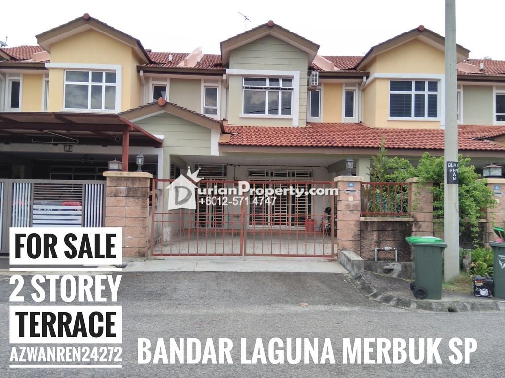Terrace house for sale at bandar laguna merbok sungai for Laguna house for sale