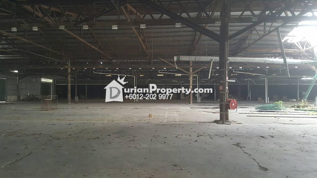 Detached Factory For Rent at North Port, Port Klang