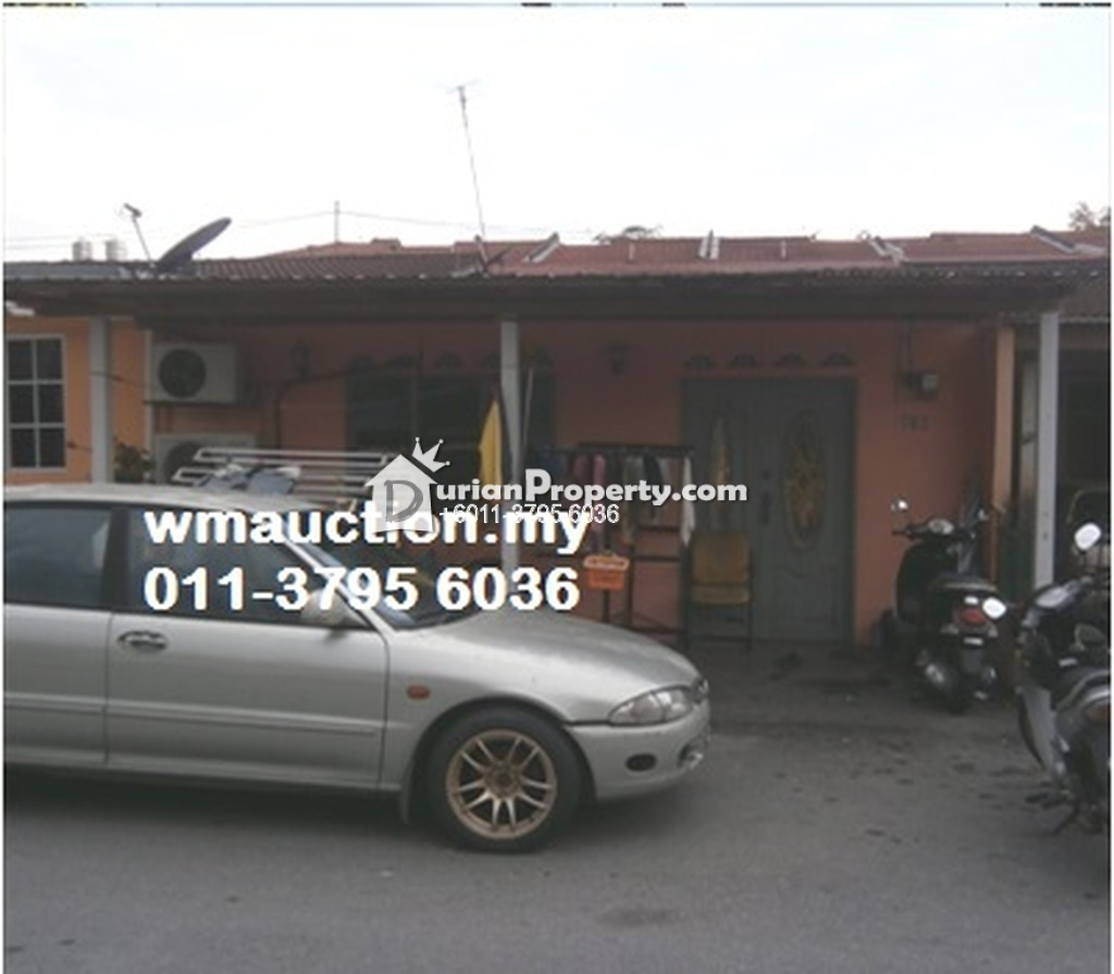 Terrace House For Auction at Taman Klana Jubli, Seremban