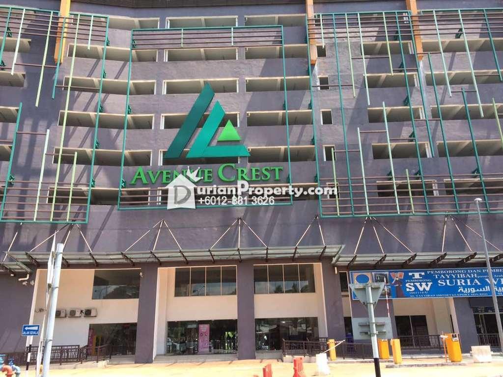 Condo For Sale at Avenue Crest, Shah Alam