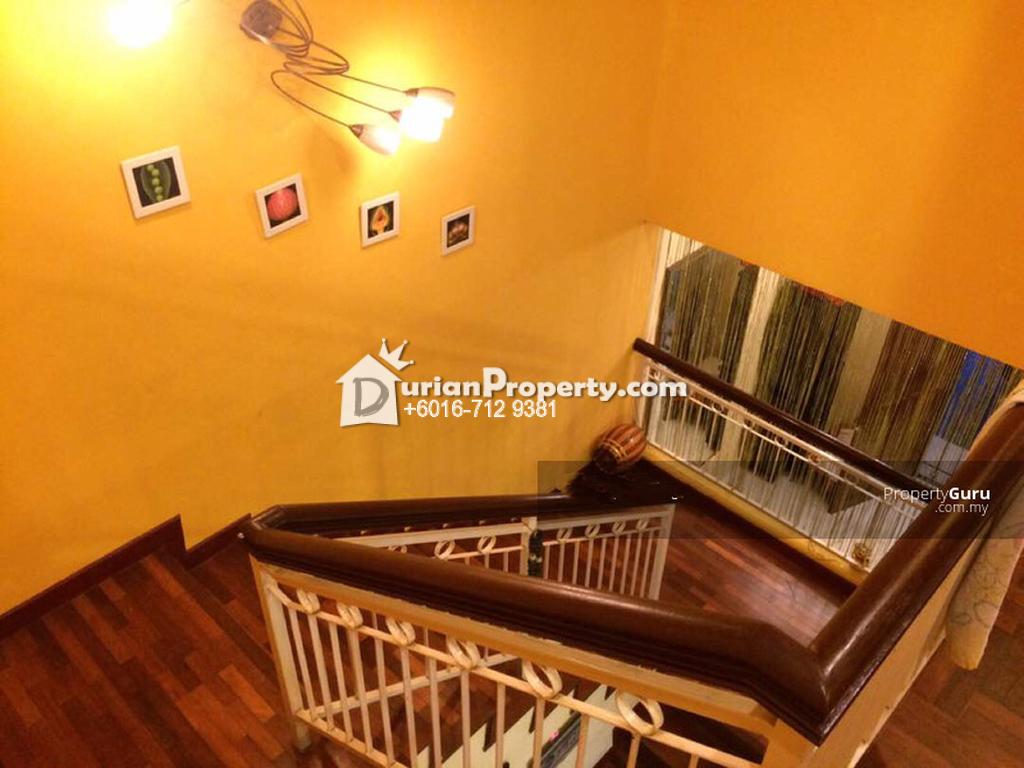Terrace House For Sale at Taman Pelangi Indah, Ulu Tiram