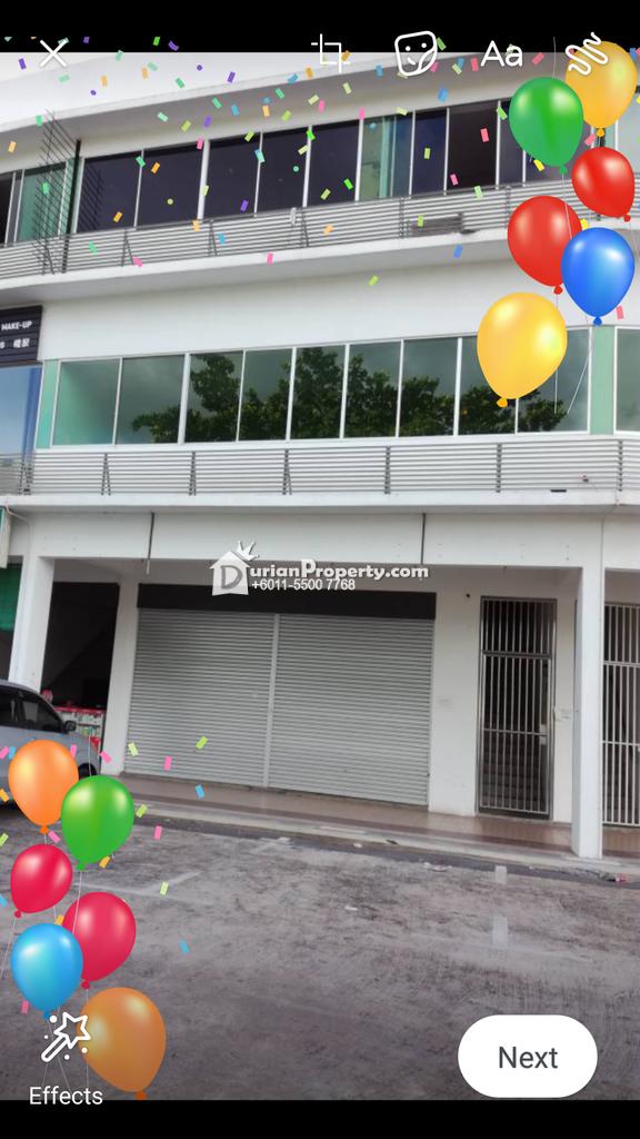 Shop For Rent at Sibu, Sarawak