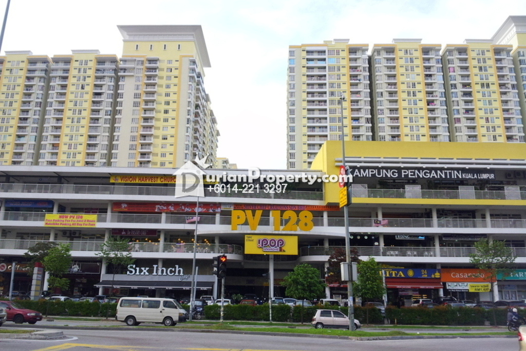 Shop For Rent at Platinum Mondrian Pv128, Setapak