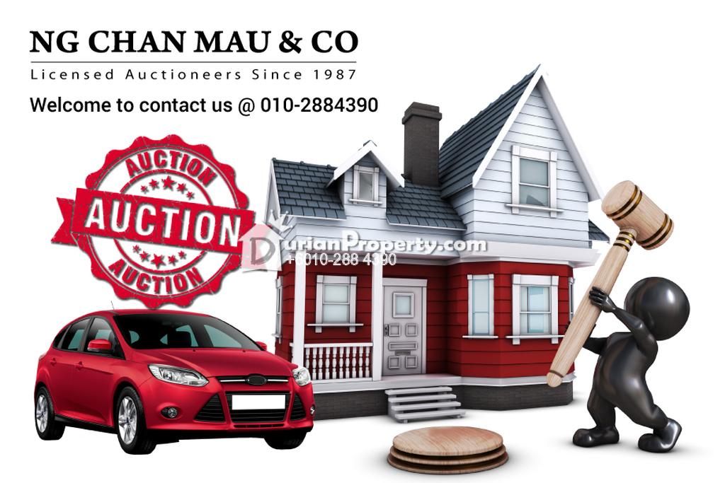 Terrace House For Auction at Dungun, Terengganu
