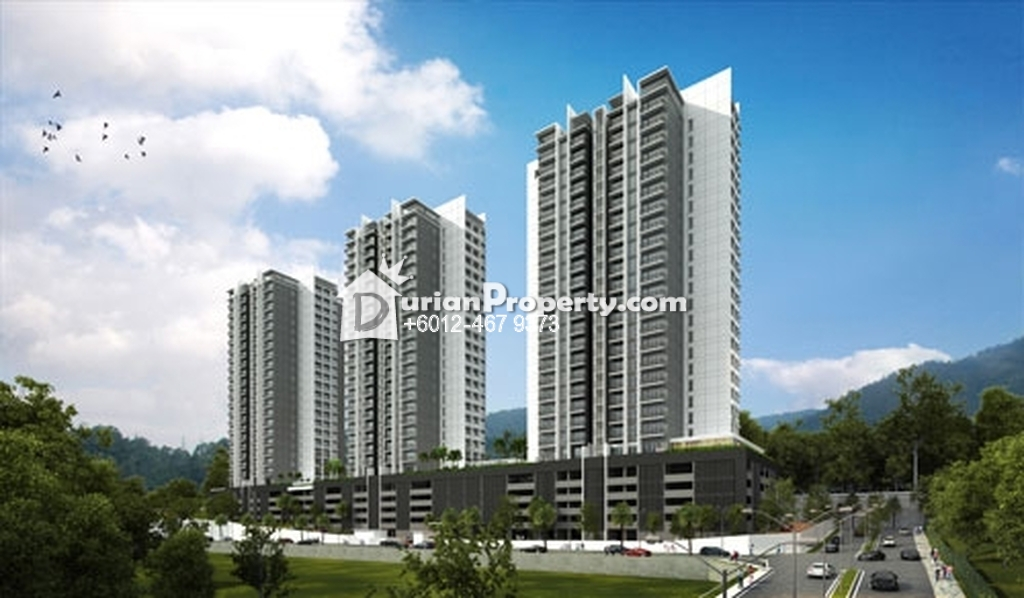 Condo For Rent at Platinum III, Teluk Kumbar