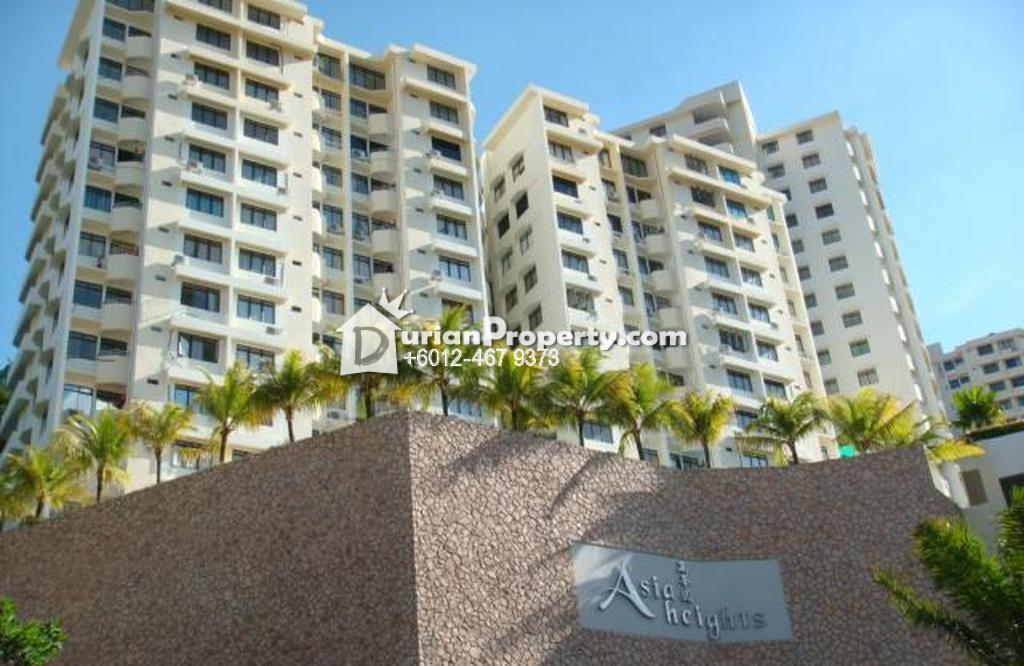 Apartment For Rent at Asia Heights, Farlim