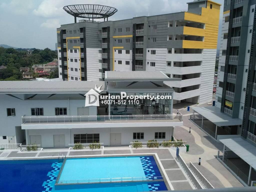 Condo For Rent at Permata Residence, Bandar Sungai Long