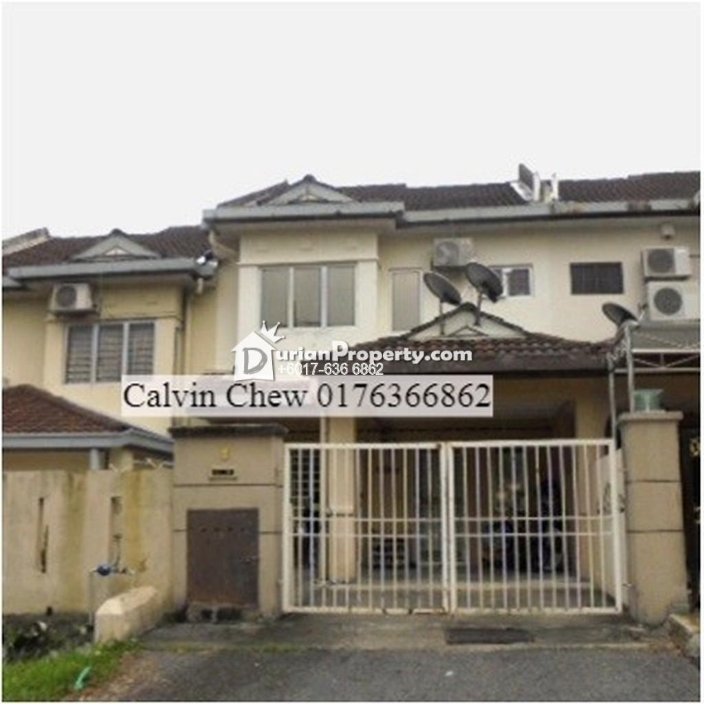 Terrace House For Auction at Taman Puncak Jalil, Seri Kembangan