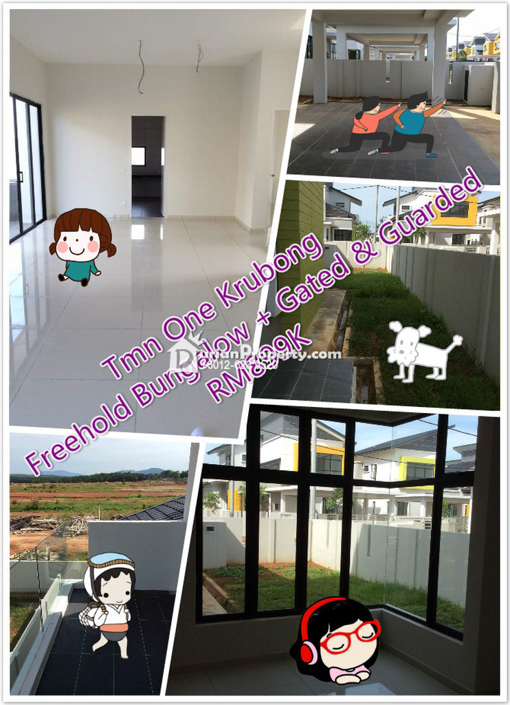 Bungalow House For Sale at One Krubong, Melaka