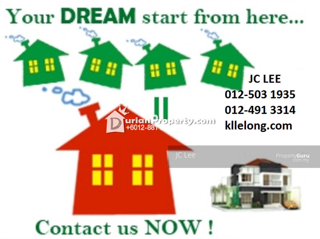 Terrace House For Rent at Taman Bukit Desa, Kepong