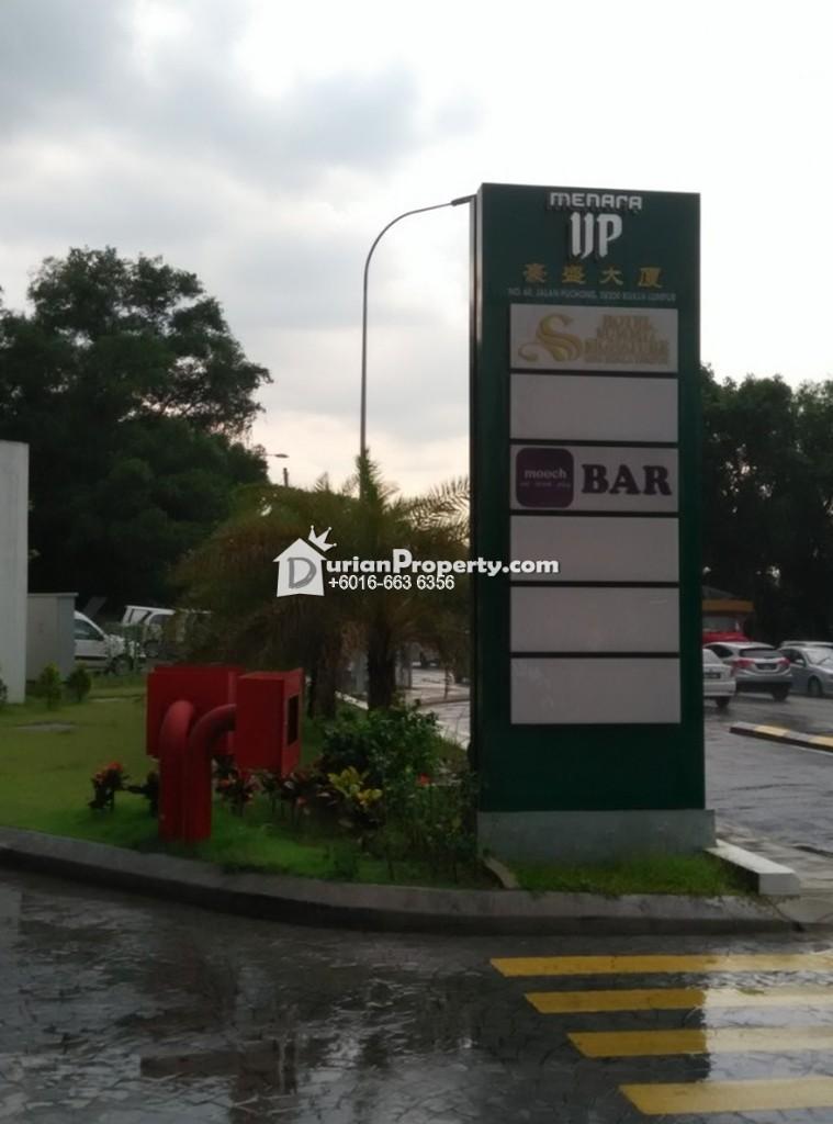Office For Rent at Menara UP, Old Klang Road