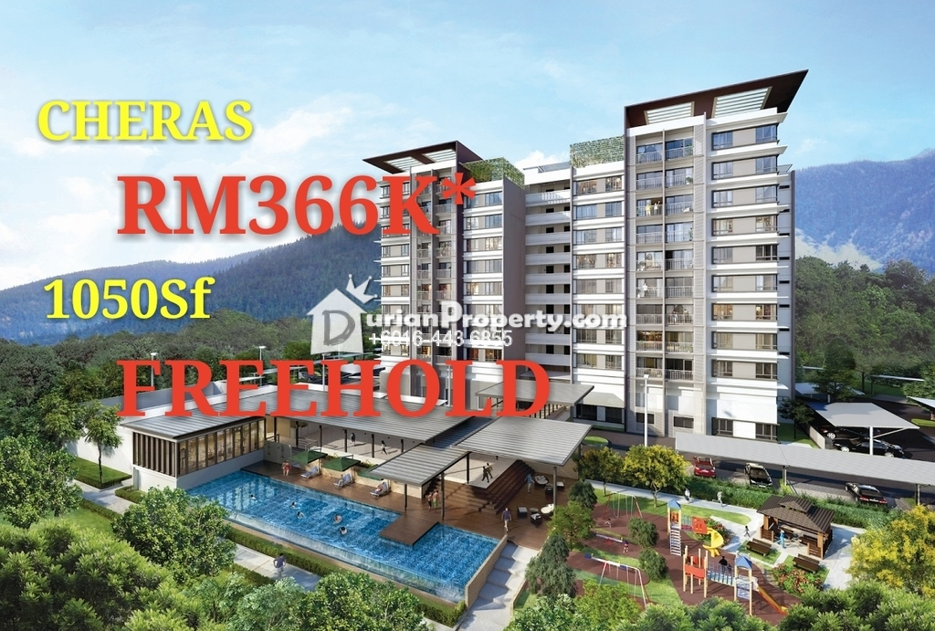 Condo For Sale at Taman Connaught, Cheras