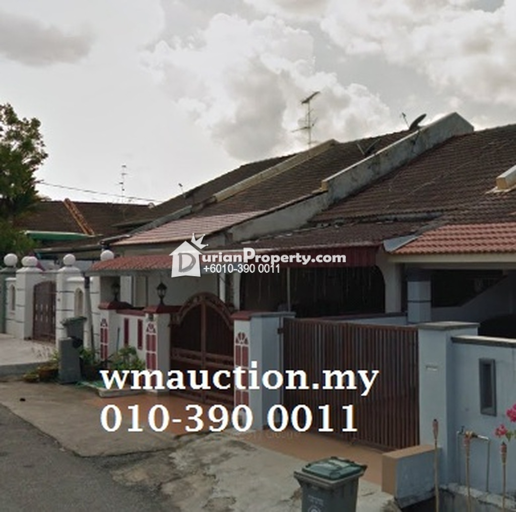 Terrace House For Auction at Taman Skudai Baru, Skudai