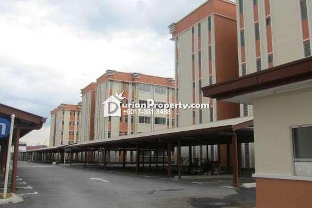 Apartment For Sale at Seri Kejora Apartment, Subang Bestari