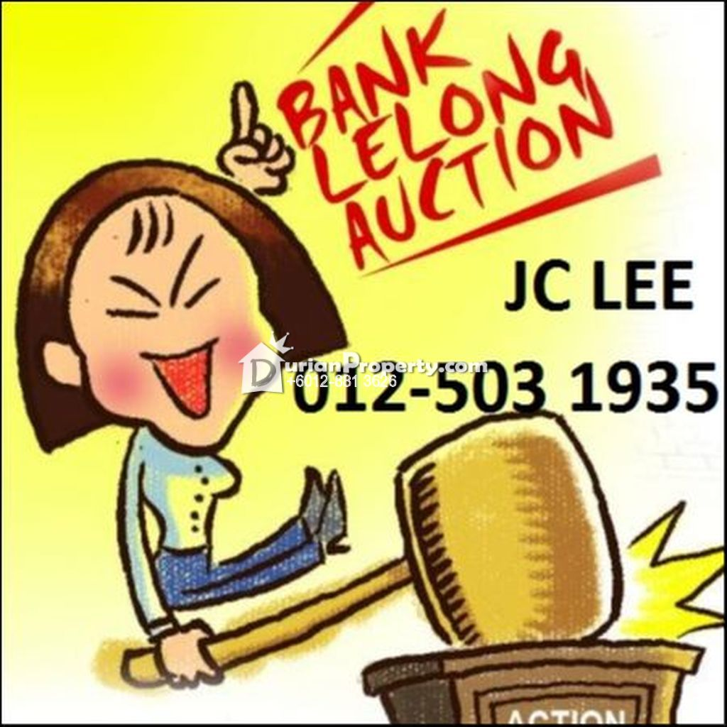 Terrace House For Auction at Taman Tanjung Minyak Utama, Melaka