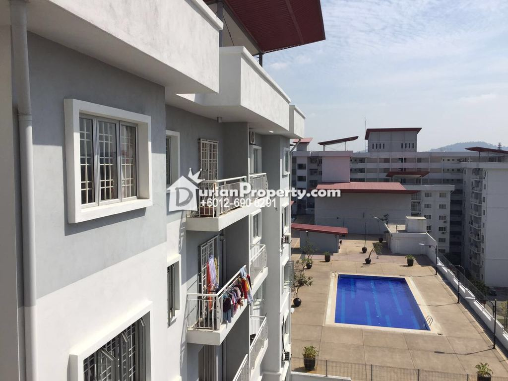 Condo For Rent at Kristal Heights, Shah Alam