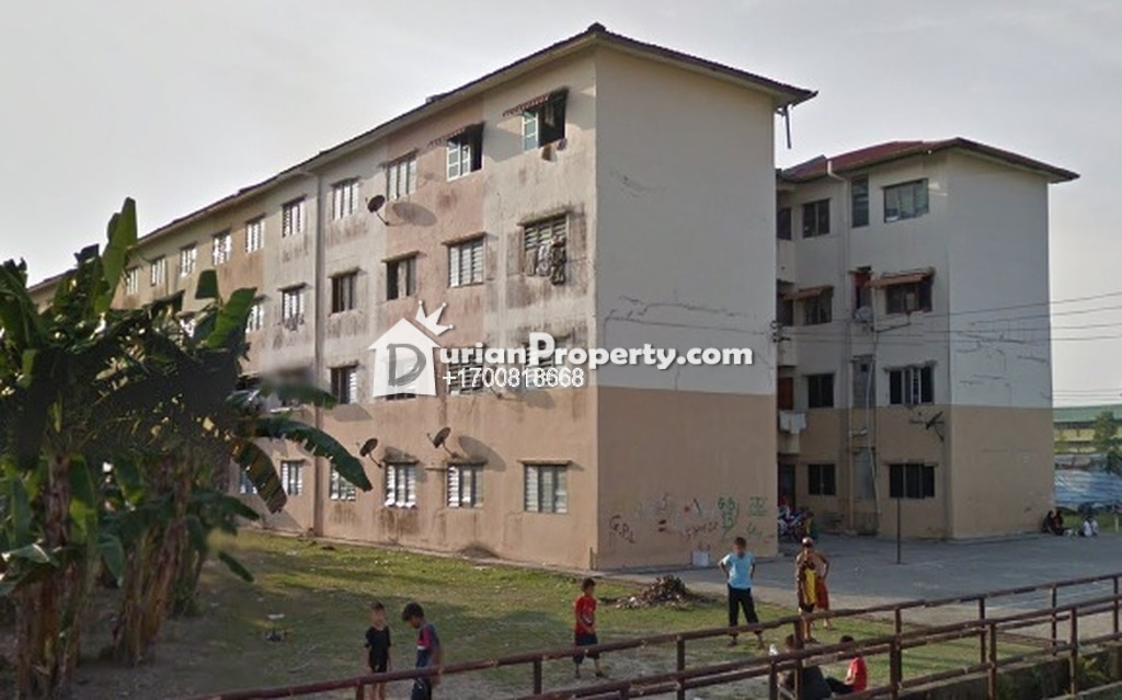 Flat For Auction at Tabuan Park, Kuching