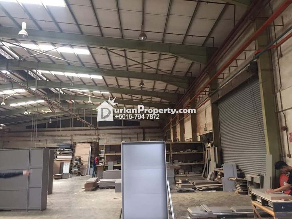 Detached Factory For Sale at Taman Desa Cemerlang, Ulu Tiram