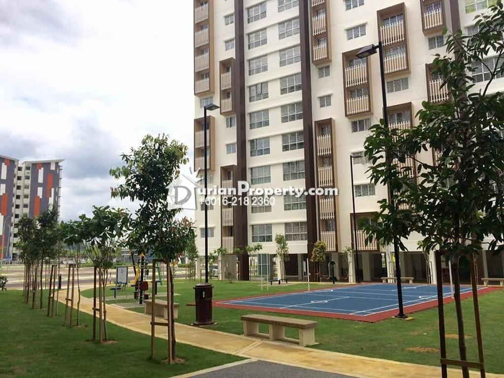 Apartment For Sale at Seri Mutiara Apartment, Setia Alam