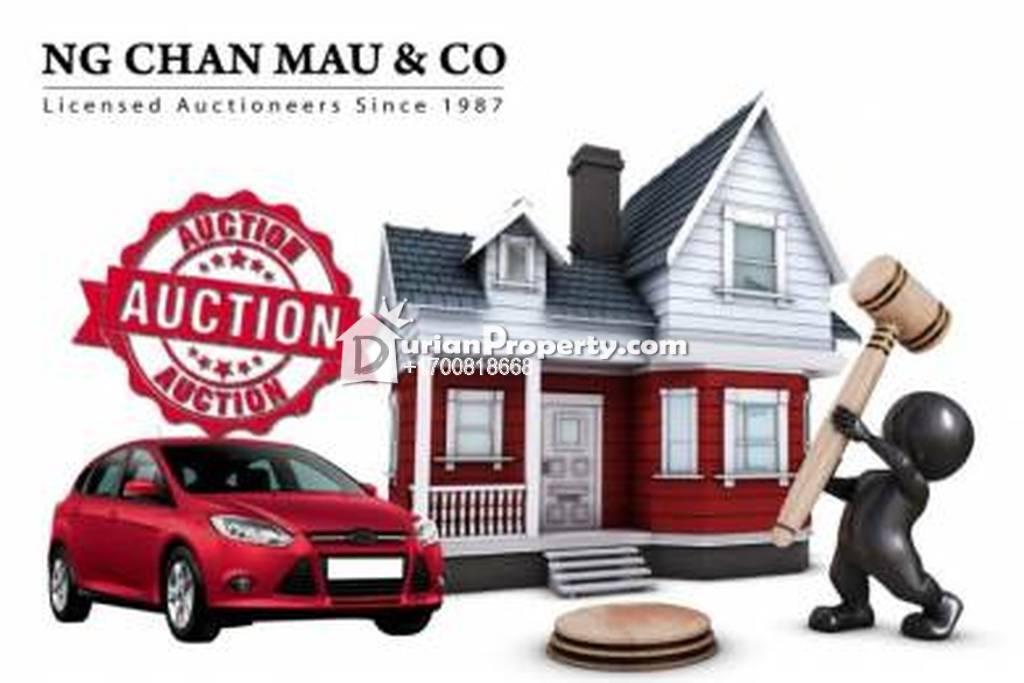 Townhouse For Auction at Pekan Sibu, Sarawak