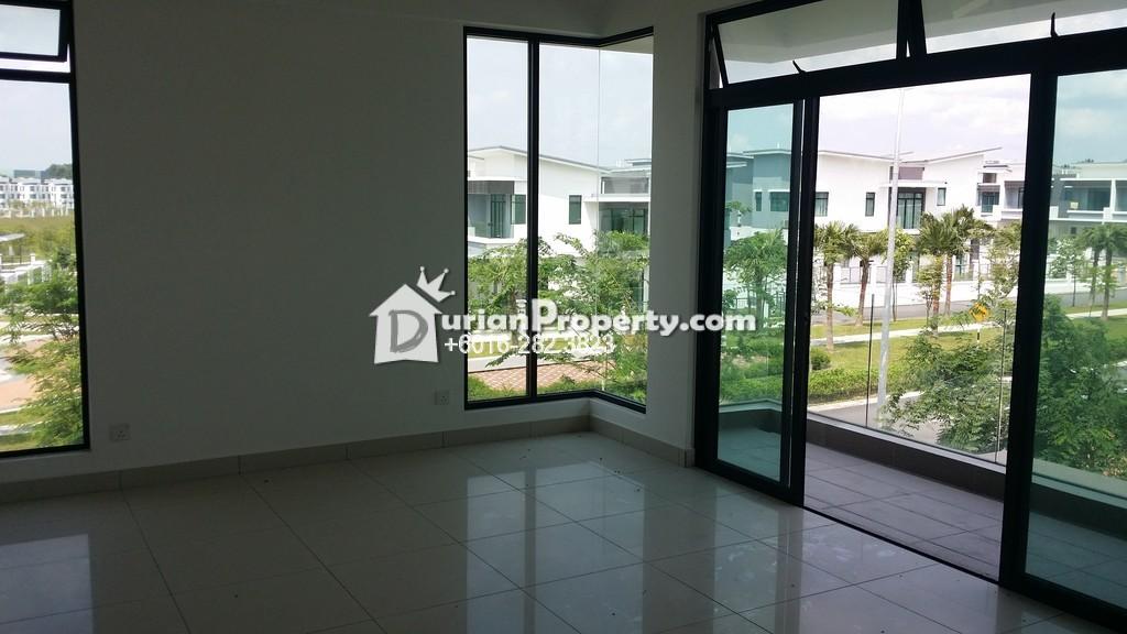 Terrace House For Sale at The Canal Garden, Nusajaya