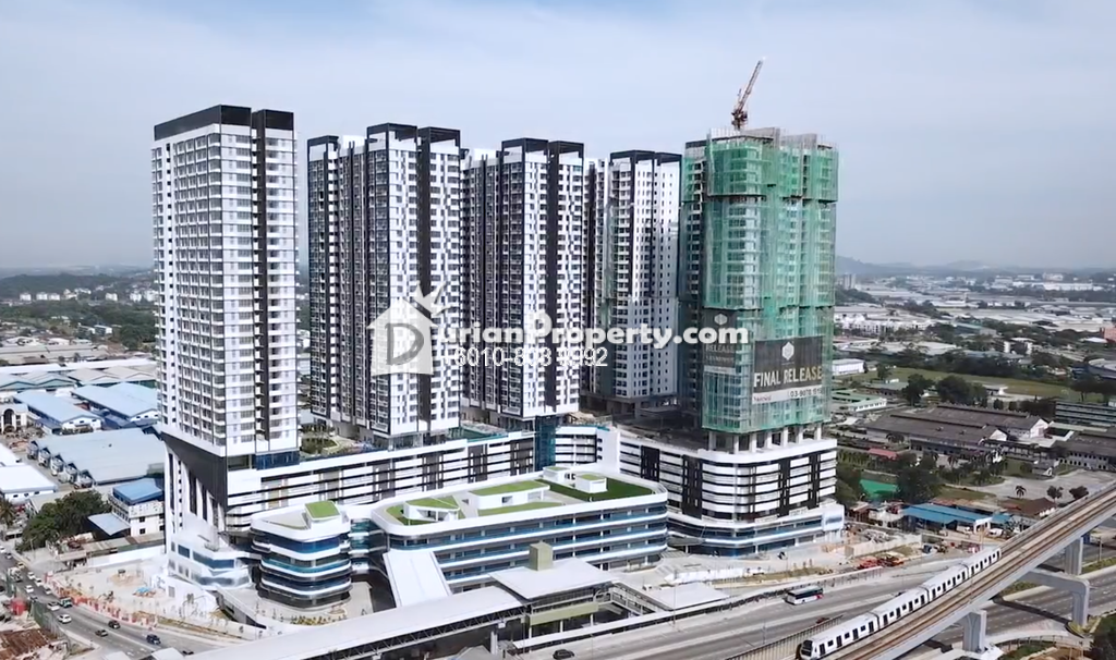 Serviced Residence For Sale at D'Sara Sentral, Sungai Buloh