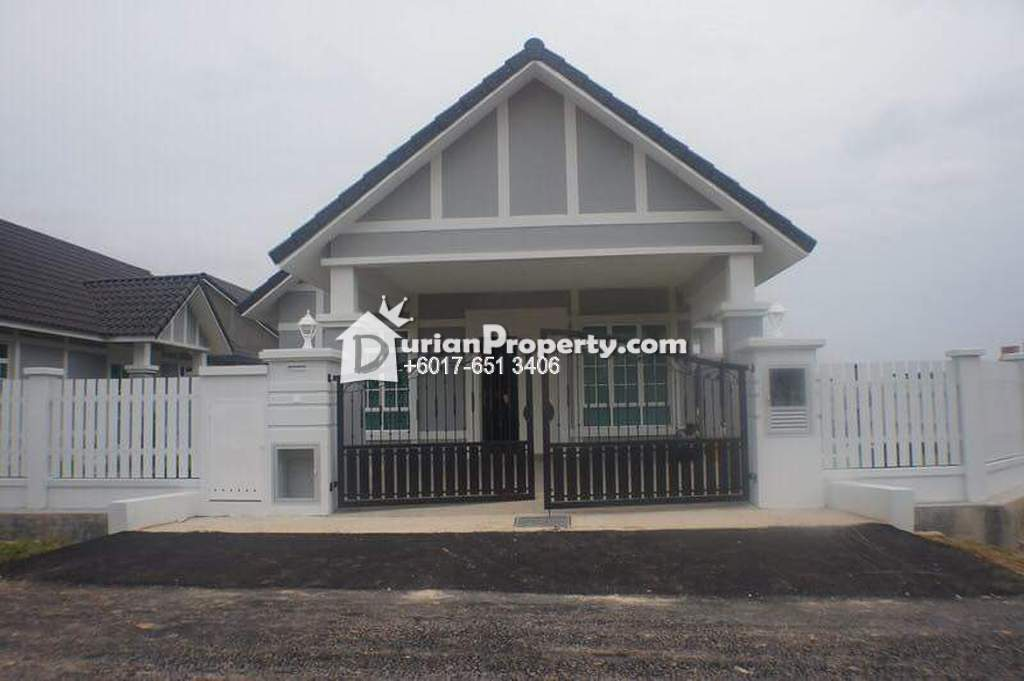 Bungalow House For Sale at Anjung Gapam, Ayer Keroh