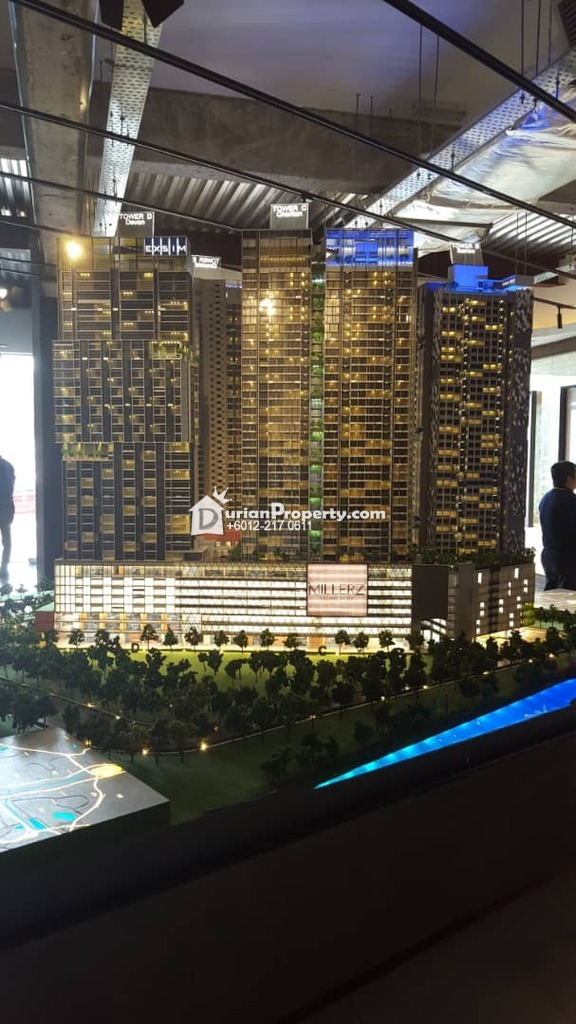 Serviced Residence For Sale at Millerz Square, Old Klang Road