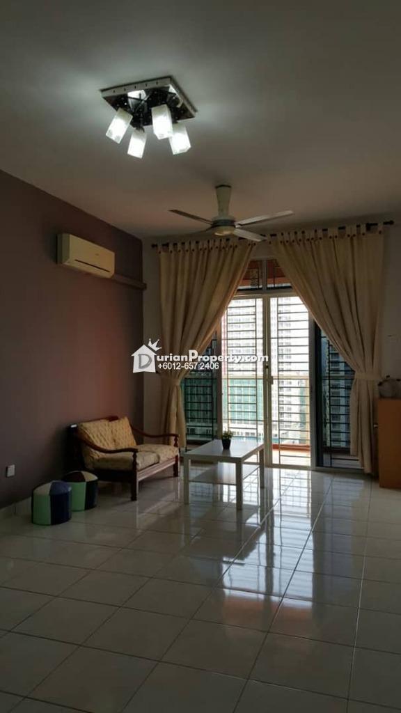 Serviced Residence For Sale at Diamond Regency, Setapak