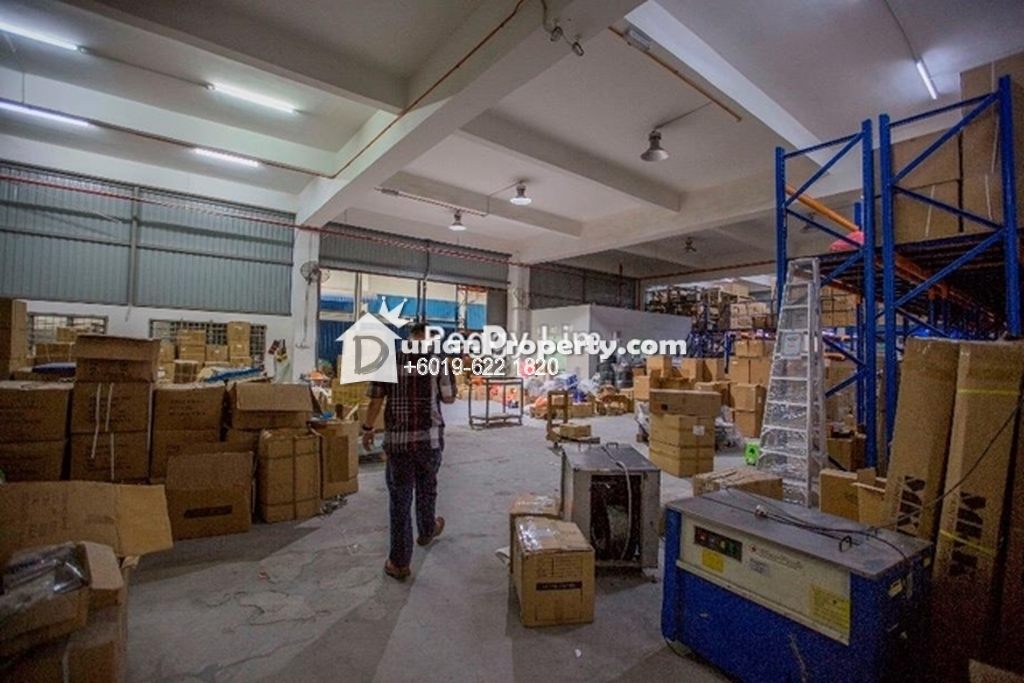 Detached Factory For Sale at Kawasan Perindustrian Balakong 18, Balakong