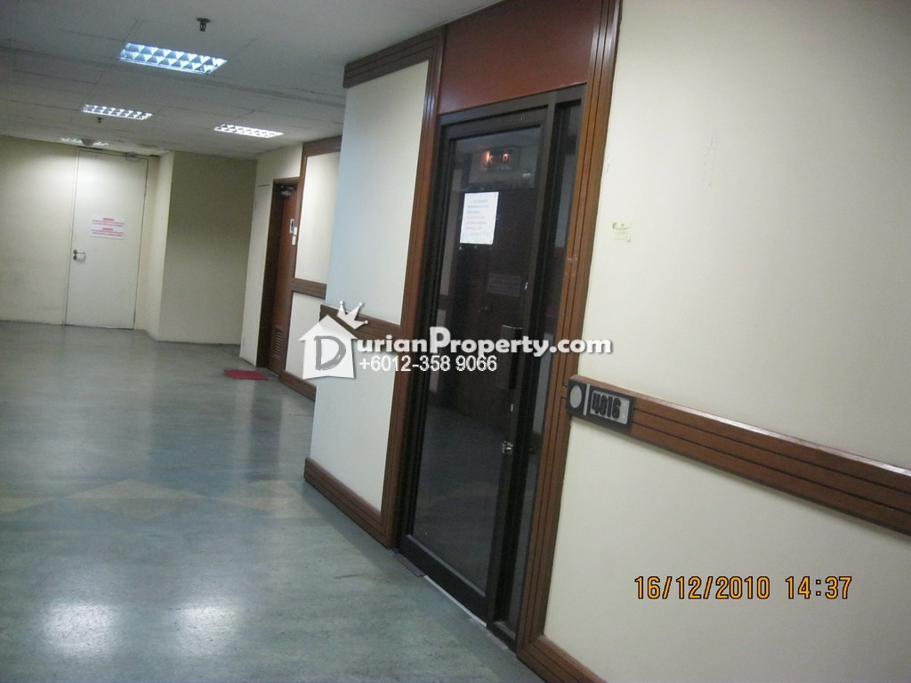 Office For Rent at President House, Bukit Bintang