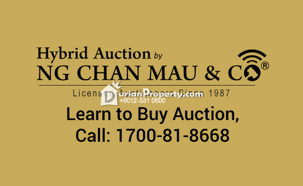 Bungalow House For Auction at Paka, Dungun