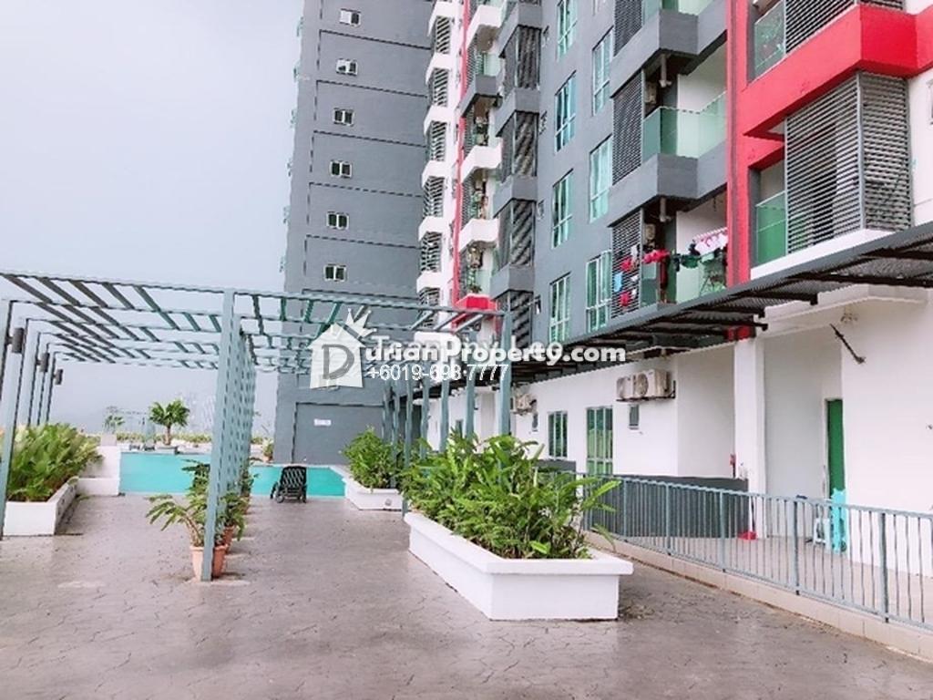 Apartment For Sale at Silk Residence, Balakong