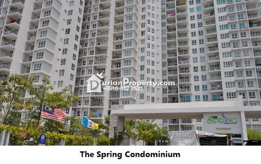 Condo For Rent at The Spring, Jelutong