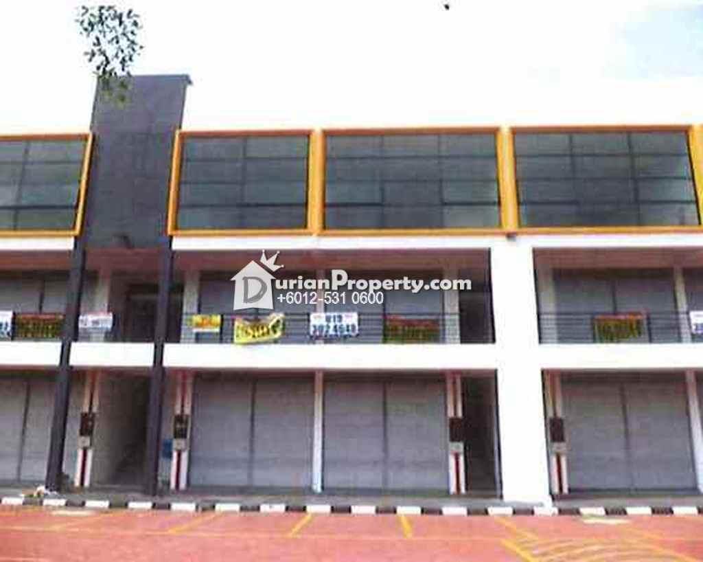 Terrace Factory For Auction at Pusat Perniagaan Helikonia, Rawang