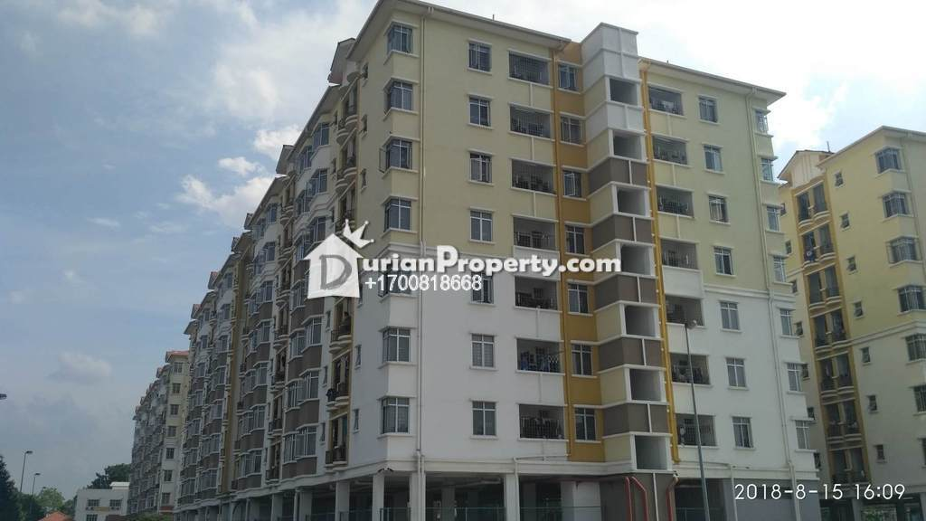 Apartment For Auction at Villamas Apartment, Klang