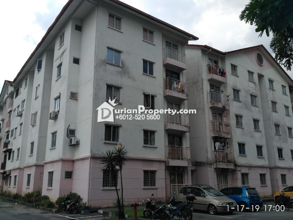 Apartment For Auction at Pangsapuri Seri Permai, Taman Sri Bahagia