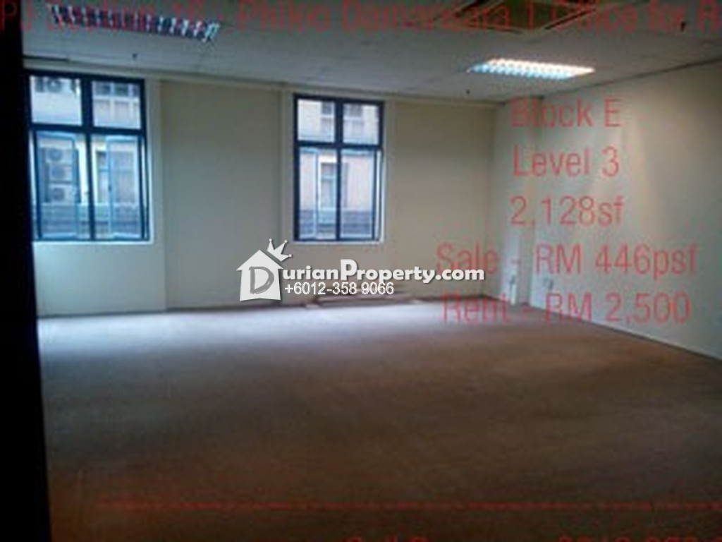 Office For Sale at Phileo Damansara 1, Petaling Jaya