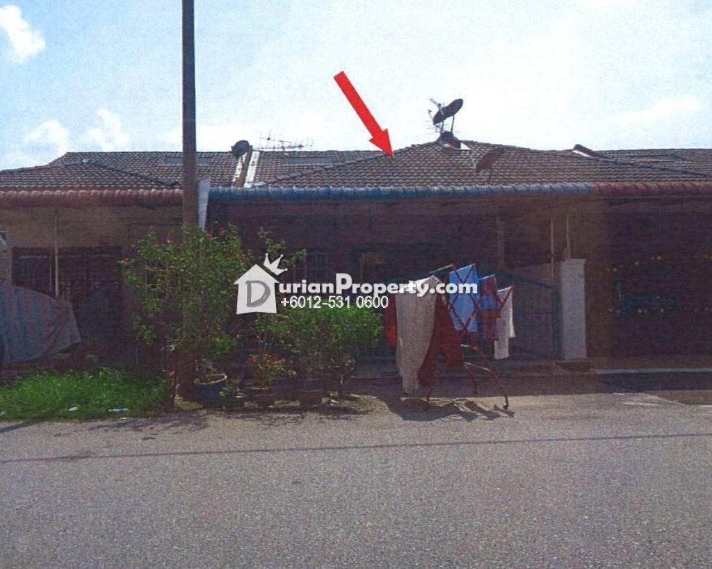 Terrace House For Auction at Taman Impian Jaya, Bidor