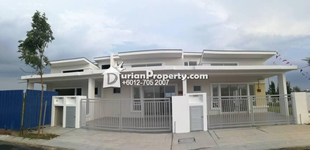 Terrace House For Sale at Taman Kluang, Kluang