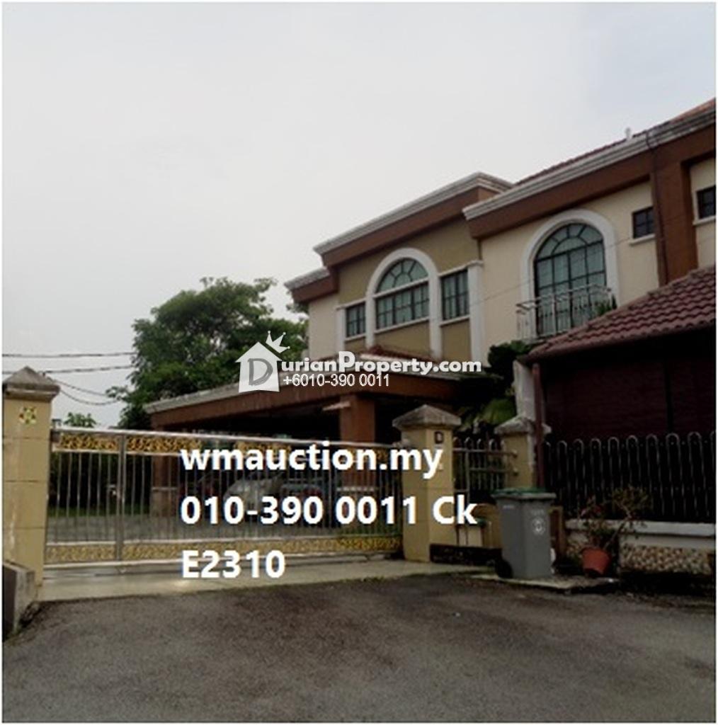 Semi D For Auction at Negeri Sembilan, Malaysia