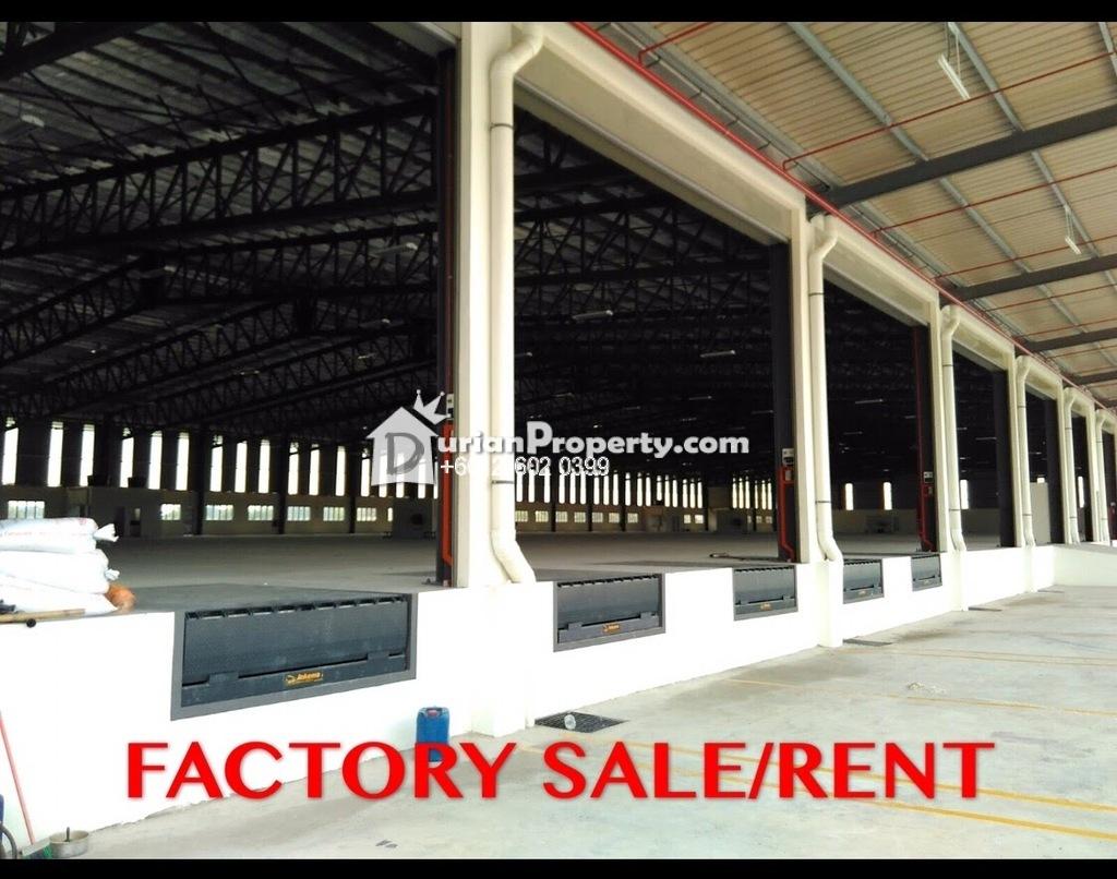 Detached Factory For Sale at Telok Gong Industrial, Port Klang