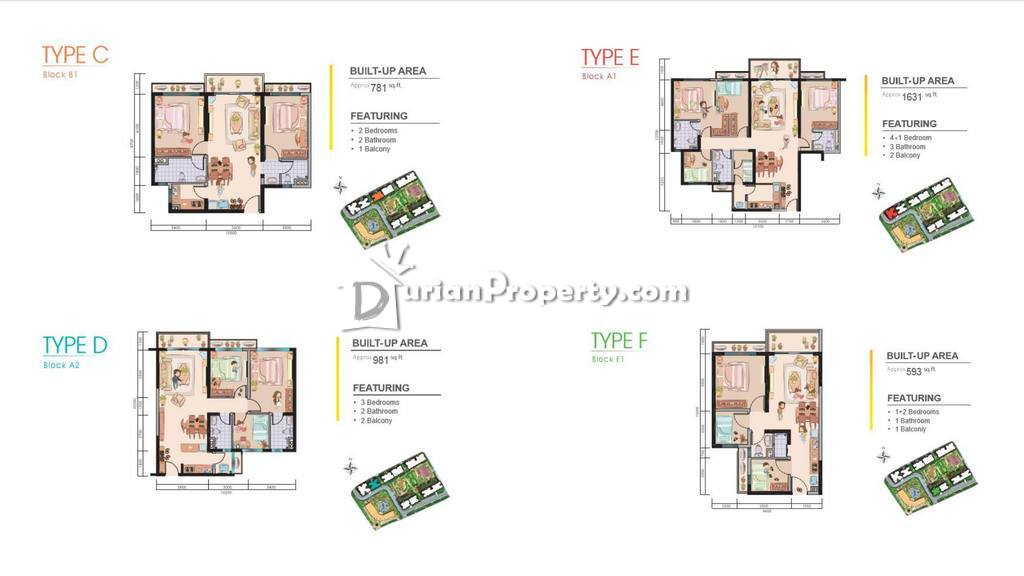 Condo For Sale At Country Garden Central Park Taman Damansara Aliff For Rm 300 000 By Kriz Durianproperty