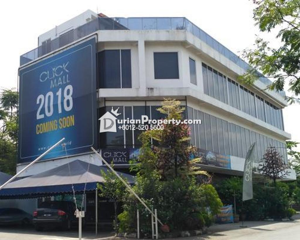 Shop Office For Auction at Section 34, Shah Alam